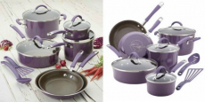 FREE Rachael Ray 12-Piece Cucina Porcelain Cookware Set!
