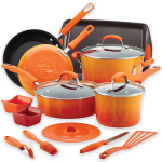 Enter To Win A Rachael Ray Hard Enamel Nonstick 16pc Cookware Set On 12/6!