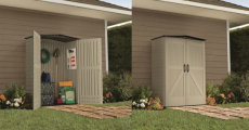 Save $100 On A Rubbermaid Roughneck Storage Shed At Lowe's!