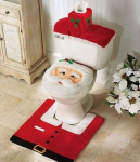 Happy Santa Toilet Seat Cover and Rug Set‏ only $17.99 Shipped (reg. $29.99)