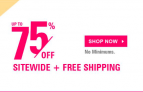 Save Up to 75% Off All Your Sign & Decal Needs and an Extra 20% Off – $4.80(REG$19)