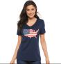Women's SONOMA Goods for Life® Patriotic Graphic Tee – $5.20 (60% Off)