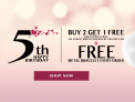 Buy 2 Get 1 Free at Gnoce 5th Happy Birthday Sale (70% Off)