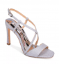 Badgley Mischka Women's Ebiza Metallic High-Heel Sandals $64.75 + Free Shipping (65% Off)