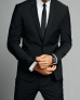 Selected Men's Suits (Slim Blue Wool-Blend, Extra Slim/Slim Blue Wrinkle-Resistant) -$102 (59% Off)