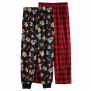 2-Pack, Girls 4-12 Cuddl Duds Pants -$5.90(79% Off)