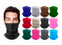 2-Pack, Harvic Moisture-Wicking Neck Gaiter Breathable Stretch Face Mask -$11.99(60% Off)