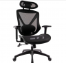 Quill Brand Dexley Mesh Task Chair, Black -$134.99(50% Off with code)