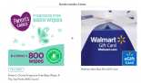 2-Pack 800-Count Parent's Choice Fragrance Free Baby Wipes + $10 Walmart eGift Card