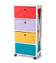 The Big One 4 Drawer Storage Tower -$47.99(60% Off)