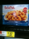 SeaPak Shrimp Poppers Just 92¢ at Walmart