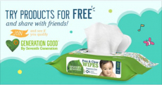 Hurry! Score FREE Seventh Generation Free & Clear Baby Wipes!