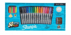 Sharpie Special Edition Permanent Markers 23-Pack Set Onl $15.29!