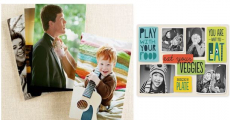 NEW! FREE Personalized Placemats Or Photo Prints From Shutterfly!
