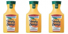Simply Orange Juice 59oz Bottles ONLY $2.00/Each!