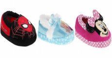 New! Shop Kid's Character Slippers Starting At $3.88!