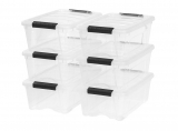 Stackable Clear Storage Box $28.41 (REG $37.87)