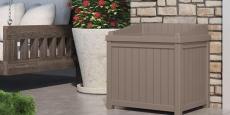 Suncast 22-Gallon Small Storage Seat Deck Box Only $29.00! (Reg $40)