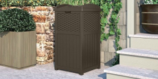 Suncast Outdoor Trash Hideaway Just $33.15 Shipped!