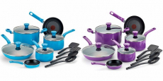 T-Fal 14-Piece Excite Non-Stick Cookware Set Just $39.00 Shipped!