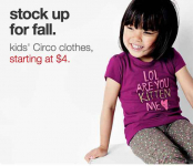 Get Kids Clothes Starting At $4.00 At Target! Clearance As Low As $2.25!