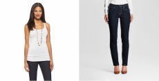 40% Off Women's Jeans, Tanks, And Tee's At Target! Jeans Starting At $13.98! Tanks Only $5.40!