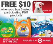 Charmin Toilet Paper Just 33¢ Per Double Roll at Target!