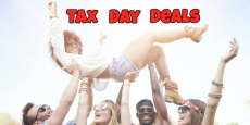 Score The Top 10 Tax Day Deals 2018!