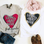 Teaching Is Heart Work Tees ONLY $13.99! Reg $28!!!