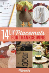 DIY Holiday Decor: 14 Thanksgiving Placemat Ideas!