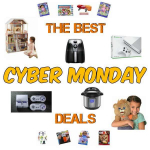 Cyber Monday Deals To Complete Your Christmas Shopping!!!