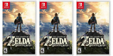 The Legend of Zelda: Breath of the Wild Only $45.00 Shipped!