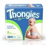 Thongies Diaper Thongs – 384 ct. for Just $.99