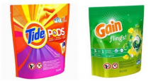 Tide Pods & Gain Flings Only $1.69/Pack!