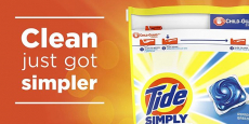 Sale on Tide Simply Pods only $0.94/Pack!