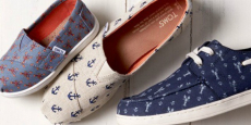 Save Up To 55% Off Select TOMS Shoes!