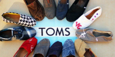 Up to 60% off Toms Shoes with Surprise Sale!