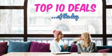 Score the Top 10 Deals of the Day!