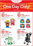 Toys R Us/Babies R Us: $3 Mr. Potato Heads, $20 Angry Birds Star Wars + $40 Baby Stroller!)