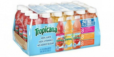 Tropicana 100% Juice 24ct Variety Pack Just $0.46/Each!