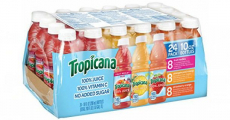 HOT! Tropicana 100% Juice 24ct Variety Pack Just $0.47/Each Shipped!