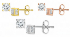 WOW!!! 14K TruMiracle Diamond Earrings ONLY $199 Shipped! Reg $560!