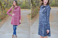 Double Button Tunic Only $22.99! Normally $55.99!