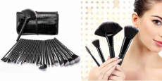 USpicy 32-Piece Professional Makeup Brush Set Just $13.99!