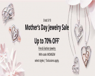 Mother's Day Jewelry Sale Up to 70% OFF