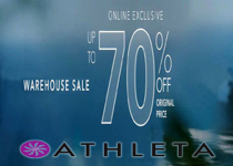 ATHLETA.GAP Warehouse SALE Up to 70% OFF