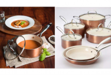 Food Network 10 Pc. Ceramic Cookware Set Only $79.99 + FREE Shipping!