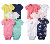 5-Pack Carter's Bodysuits Only $10.39 (reg $26) + FREE Pickup!