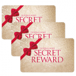 Today Only! 2 Free Secret Reward Cards With a $10 Purchase at Victoria's Secret!