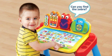 VTech Touch & Learn Activity Desk Deluxe Just $29.61! REG $55!